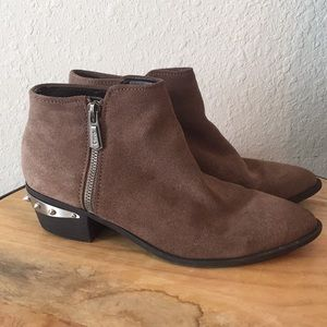 Circus Sam Edelman Holt Studded Suede Ankle Boots